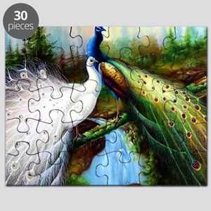 Two Peacocks Puzzle