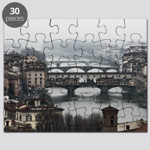Bridges of Florence Italy Puzzle