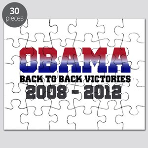 Obama Back to Back Victory Puzzle