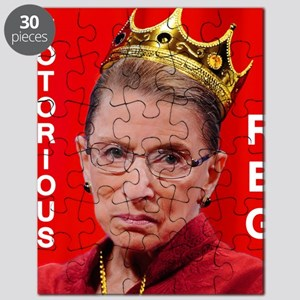 Notorious RBG Small Square Puzzle