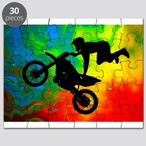 Solar Flare Up Motocross Puzzle