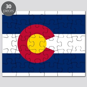 Colorado flag Puzzle