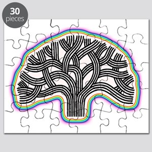 Oakland Tree Rainbow Halo Puzzle
