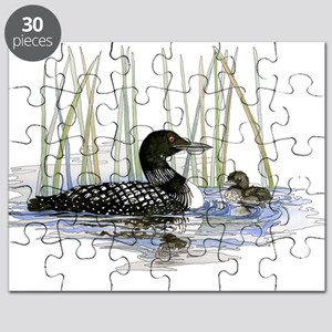 Loon and baby Puzzle