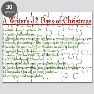 12 Days Of Christmas List.12 Days Of Christmas Puzzles Cafepress