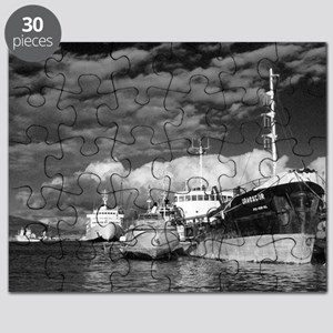 Ships at the harbor Puzzle