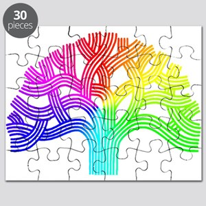 Oakland Tree Rainbow Puzzle