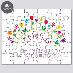 Friends are the Family we pick ourselves Puzzle