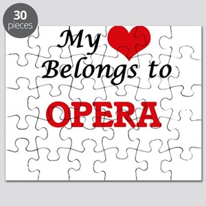 My heart belongs to Opera Puzzle
