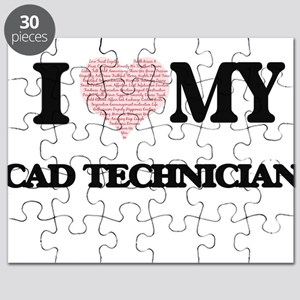 Cad Certificate Puzzles - CafePress