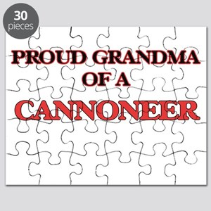 Proud Grandma of a Cannoneer Puzzle