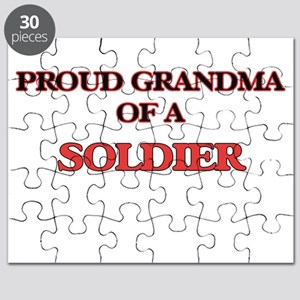 Proud Grandma of a Soldier Puzzle