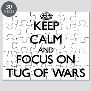 Keep Calm by focusing on Tug Of Wars Puzzle