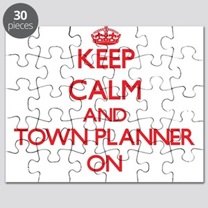 Keep Calm and Town Planner ON Puzzle