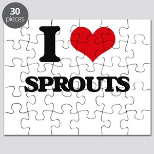 I love Sprouts Puzzle