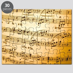Music Sheet Puzzle
