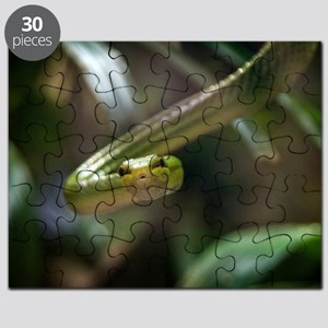 Green Tree Python Puzzles - CafePress
