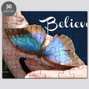 Believe Butterfly Puzzle