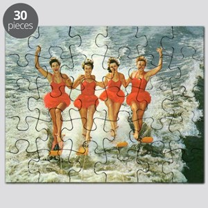 4 waterskiers Puzzle