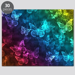 butterfly rainbow Puzzle