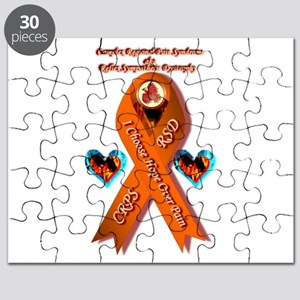 I Choose Hope Over Pain CRPS RSD Awareness Puzzle