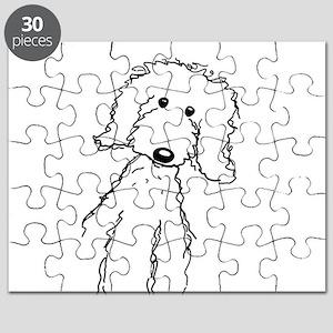 Golden Doodle Dog Goldendoodle Puzzles - CafePress