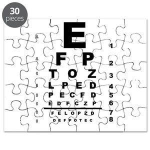 Eye Test Chart Puzzle