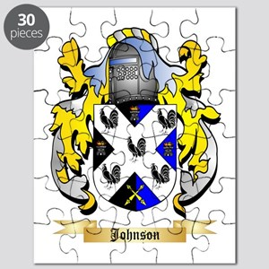 Johnson Coat Arms Puzzles - CafePress