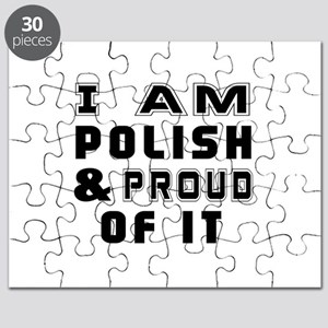 I Am Polish And Proud Of It Puzzle