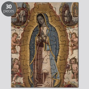 Virgin of Guadalupe. Puzzle