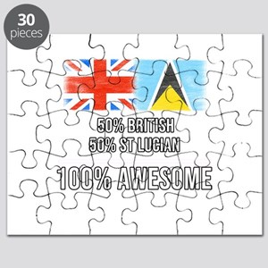 50% British 50% St Lucian 100% Awesome Puzzle