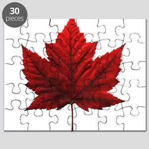 Canada Maple Leaf Souvenir Puzzle