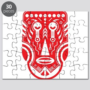 5b39f67d1 Aztec Tattoo Puzzles - CafePress