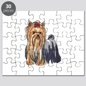 YORKSHIRE TERRIERS Puzzle