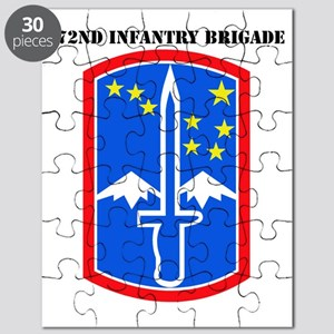SSI -172nd Infantry Brigade with text Puzzle