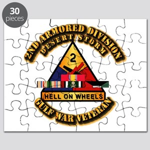 Army - DS - 2nd AR Div Puzzle