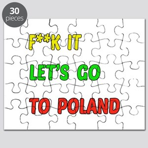 Let's go to Poland Puzzle