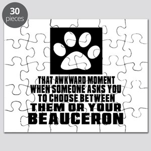 Beauceron Awkward Dog Designs Puzzle