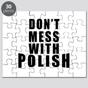 Don't Mess With Poland Puzzle