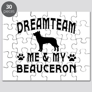 Beauceron Dog Designs Puzzle