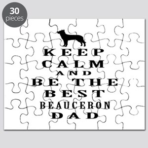 Keep Calm Beauceron Designs Puzzle