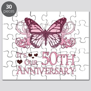 50th Wedding Aniversary (Butterfly) Puzzle