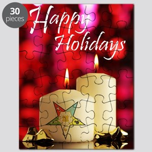 Eastern Star Holiday Card Puzzle