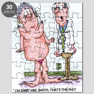 Funny Medicare Breast Enhancement Puzzle