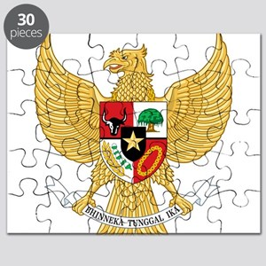 Indonesia Coat Of Arms Puzzle