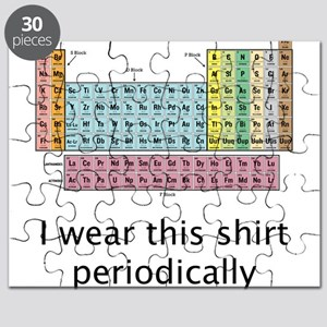 I Wear This Shirt Periodically Puzzle