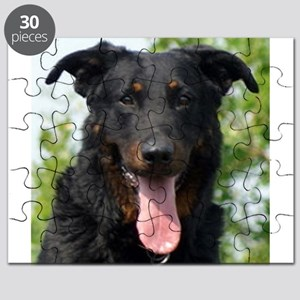 beauceron black and tan Puzzle