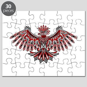 02d2d45c6 Eagle Tattoo Style Haida Art Puzzle