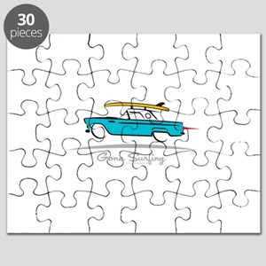 Ford Thunderbird Gone Surfing Puzzle
