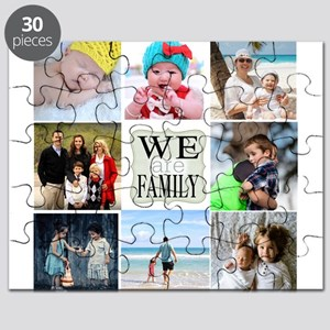 Custom Family Photo Collage Puzzle